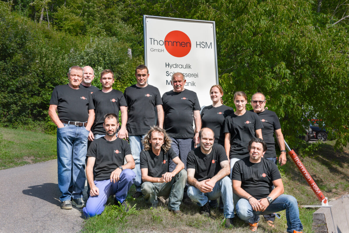 Teamfoto Thommen HSM